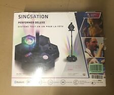Singsation All-In-One Bluetooth Karaoke Party Machine w/ Light Show (Tested)