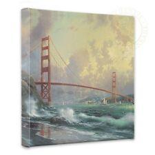 Thomas Kinkade San Francisco Golden Gate Bridge 14 x 14 Canvas Wrap