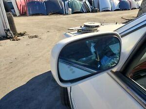2002 2003 2004 2005 CADILLAC DEVILLE LEFT DRIVER MIRROR PEARL WHITE