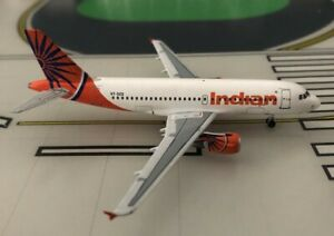 Indian Airlines Airbus A319-112 VT-SCD 2000s 1/400 scale diecast Aeroclassics
