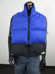 NWT Unisex TNF The North Face Nuptse 700-Down Reversible Winter Scarf $100 Blue