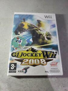 G1 JOCKEY 2008   NINTENDO Wii  NEW SEALED  UK PAL VERY RARE