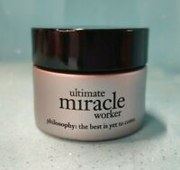 Philosophy ULTIMATE MIRACLE WORKER Multi-Rejuventating Face Cream SPF 30 0.5 oz!