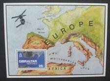 GIBRALTAR 1978 Gibraltar From Space. Souvenir Sheet. Mint Never Hinged. SGMS399.