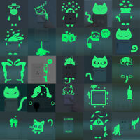 Cartoon Switch Luminous Sticker Fluorescent Removable Window Wall Home Decor New