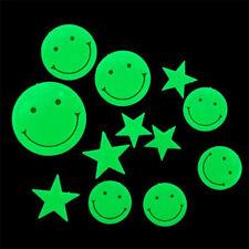 Estrellas smiles sonrisas fluorescentes 3D luminosa noche Glow in the dark