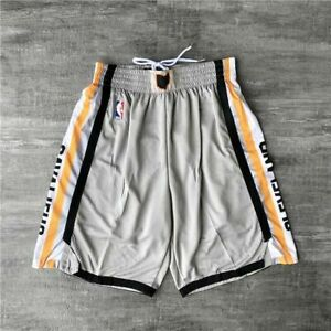 Hot sale Cleveland Cavaliers City Edition Gray Men Basketball Shorts Size:S-XXL