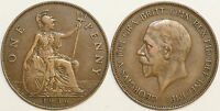 1911 to 1936 George V Bronze Penny Your Choice of Date   / Year Multibuy