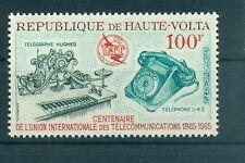 EMBLEMI - EMBLEM UPPER VOLTA 1965 U.I.T. Centenary