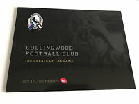 Brand New Mint Condition Collingwood AFL Collector 2017 Souvenir Stamp Folder