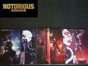 Catwoman 23 24 25 26 27 28 Complete Variant Set Comic Lot Catgirl Joker War DC