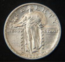 1918-S Standing Liberty Quarter GEM BU (D0456)