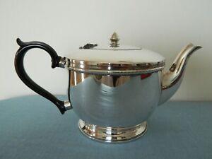 Vintage Teapot CRUSADER Silver Plate  E.P.N.S.A.1