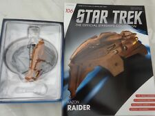 STAR TREK EAGLEMOSS OFFICIAL STARSHIPS COLLECTION #106 KAZON RAIDER