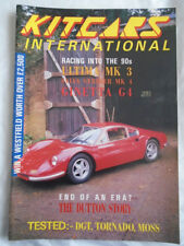 Kit Cars International Jan 1990 Ultima MK3, Sylva Striker MK4, Ginetta G4, DGT