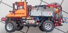 LEGO 8110 Technic Unimog U400 mit Fernbedienung zum lenken und vor und zurück fa