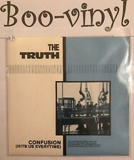 """THE TRUTH / JAM PUNK 7"""" (CONFUSION HITS US EVERYTIME EX+"""