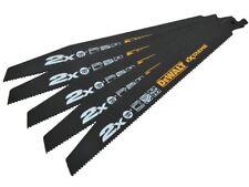 DeWalt DT2307L-QZ EXTREME Wood/Nail Reciprocating Blades 228mm 6TPI x 5
