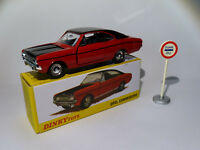 Opel COMMODORE coupé - ref 1420 au 1/43 de dinky toys atlas