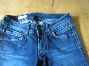 Pepe Damen Jeans Ariel 27 / 32 Stretch dunkelblau top