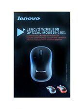 Computer-Maus, Kabellos, Funk,Lenovo Wireless Optical Mouse N1901, grey, Blister