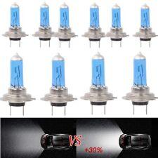 10x Lamp Bulb Car Headlight H7 Light Globes White Super 55W Xenon Halogen 12V AU