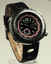 Tegrov automatic watch tachymeter scale black version new unworn