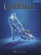 Disney Cinderella Easy Piano Sheet Music Book Motion Picture Soundtrack