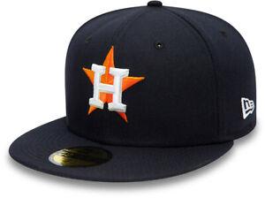 Houston Astros New Era 5950 AC Perf Team Baseball Cap