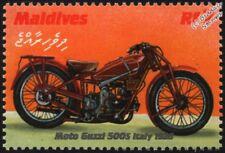 1928 MOTO GUZZI 500S (Italy) Motorcycle Motorbike Stamp