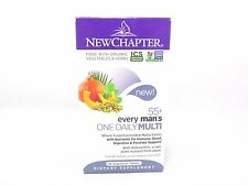 New Chapter Every Man's ONE DAILY 55+ MULTI Vitamin - 48 tablets