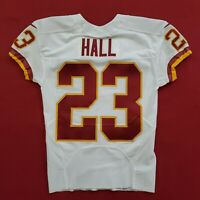 #23 DeAngelo Hall of Washington Redskins NFL Locker Room Game Issued Jersey