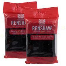 Renshaws Regalice 500g Gram Ready Roll Icing Sugarpaste Fondant Bright Colours