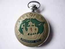 Molnija Molnia Pocket Watch Discovery Day CHRISTOPHER COLOMBUS Rare