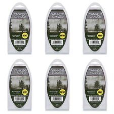 NEW YANKEE CANDLE EVERGREEN MIST WAX MELTS 2.6 OZ- LOT OF 6