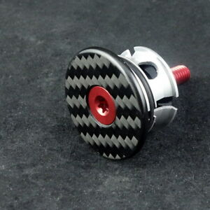 J&L Carbon 1 1/8 Stem/Headset Cap+Bolt=5.8g-for Ritchey,Zipp,FSA,3T,Enve&Pro