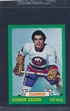 1973/74 OPC O-Pee-Chee CB #161 Germain Gagnon Islanders NM-MT+ 73OPC161-111815-1