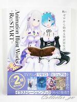 3 - 7 Days   Re:Zero Animation Illust Works - Re: Start - Art Book from JP