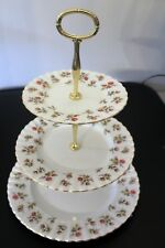 N25 Royal Albert Winsome 3 plate afternoon tea/cake stand Parkinsons UK