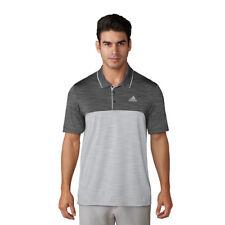 Adidas 2018 Mens Golf Ultimate 365 Heather Block Performance Polo Shirt