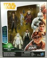 STAR WARS FORCE LINK 2.0 MISSION ON VANDOR 3.75 INCH ACTION FIGURE 4 PACK NEW