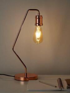 Tate Industrial Metal Table Lamp