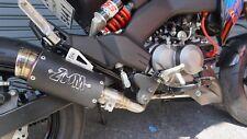 ZoOM Exhaust Kawasaki Z125 PRO Z 125 Pro 2017-2018 Z125PRO Full System Black 2SL