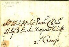 Z20233-STATO PONTIFICIO, PREF., DA PONTE METAURO A SAN COSTANZO, 1832