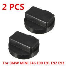 2Pcs Car Rubber Jacking Jack Pad Adapter Tool For BMW MINI E46 E90 E91 E92 E93