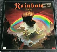 RAINBOW RISING ORIGINAL 1976 UK LP OYSTER LABEL GATEFOLD SLEEVE EX/EX