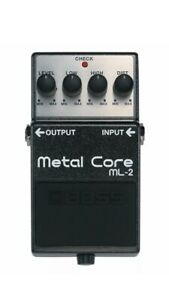 Boss ML-2 Metal Core + 5 YR WARRANTY! New In Box ! Ships Next Day