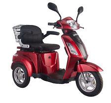 Elektromobil, E-Mobil, Seniorenfahrzeug, E-Dreirad, 25 Km/h, TriluxV1 Rot