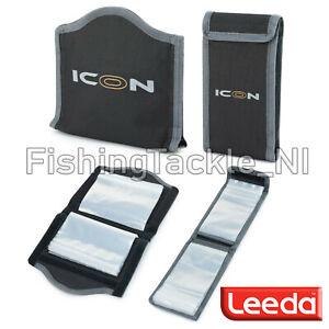 Leeda ICON Rig Wallet Small or Medium Sea Fishing Rigs Case No Zip