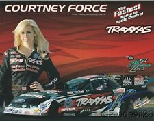 2012 Courtney Force Traxxas Ford Mustang Funny Car NHRA postcard